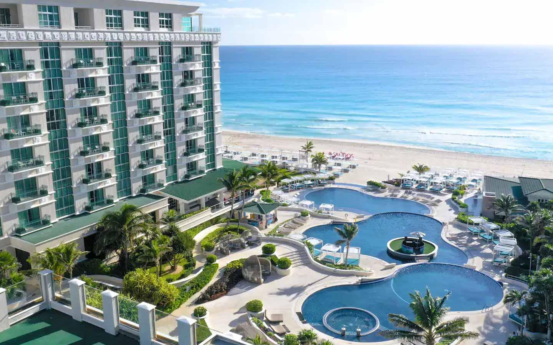 Sandos Cancun Resort All Inclusive Cancun Sandos Beachfront Hotel All Inclusive Luxury
